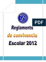 Reglamento de Convivencia Escuela Dafne Zapata Rozas