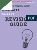 Edexcel Business Studies GCSE Revision Guide & Workbook Sample