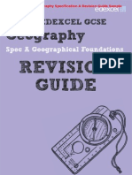 Edexcel GCSE Geography Specification A Revision Guide & Workbook Sample