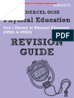 Edexcel GCSE P.E. (Physical Education) Revision Guide & Workbook Sample