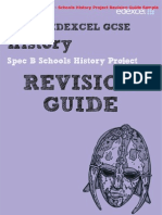 Edexcel GCSE History B - Schools History Project Revision Guide & Workbook Sample