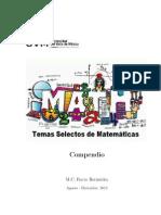 Compendio de Temas Selectos de Matematicas