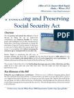 Social Security Fact Sheet