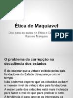 Ética de Maquiavel- apontamentos (1)