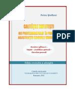 Revised Edition- Spiritual Qualities of the Professional in Humanistic Social Work, Calitatile Sufletesti Ale Profesionistului in Asistenta Sociala Umanista, Petru Stefaroi