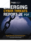 2013 Cyber Threats Forecast and Report
