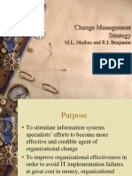x Change Management