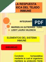 La Respuesta Toxica Del Tejido Inmune