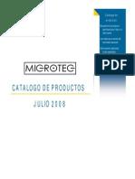 Catalogo Completo MICROTEG