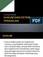 Hukum Dan Sistem Peradilan