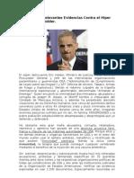 Novedosas y Relevantes Evidencias Contra El Hiper Criminal Eric Holder
