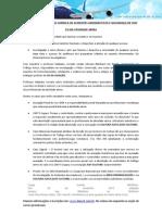 CURSO DE INVESTIGAÇÃO DE ACIDENTE AÉREO