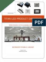 TITAN LED PRODUCT DIRECTORY