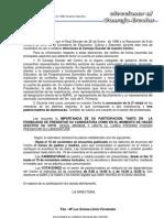 NOTIFICACIÓN PADRES  ELECCIONES