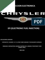 Inyeccion Elect Chrysler
