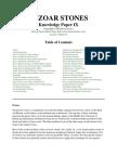 Knowledge paper IX