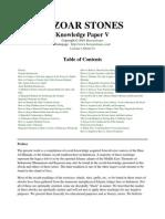 Knowledge Paper V