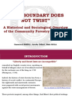 A Historical and Sociological Overview of the Community Forestry in Albania