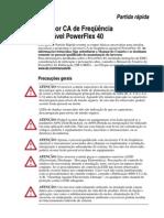 Guia Rapido PowerFlex40