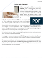 Italiani scettici sui vaccini antinfluenzali