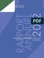 Rapport annuel Observatoire européen des drogues et des toxicomanies