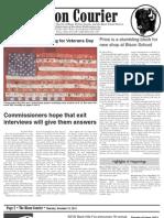 Bison Courier, November 15, 2012