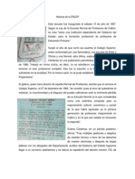 Historia de La ENLEP