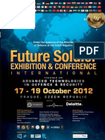 Future Soldier Exhibition Leaflet