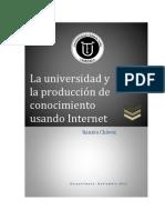 La universidad y la producción de conocimiento