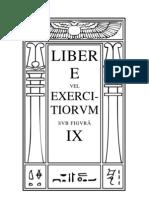 Liber E vel Excercitiorum