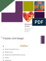 Fraction Curriculum PPT