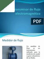 Transmisor de flujo electromagnético-