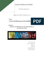 criterios de diseño bioclimatico