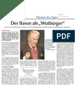 """Der Baron als """"Wutbürger"""""""