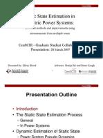 CenSCIR Presentation 20070328