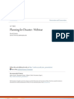Disaster Planning and Response for Libraries and Archives