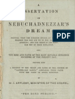 Dissertation on Nebuchadnezzar's Dream (1844)