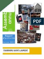Rapport Annuel 20112012 CDU
