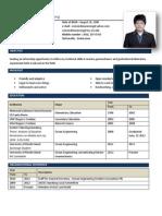 Resume for Technip