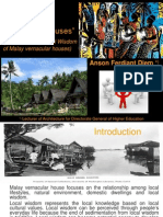 Sustainable Qualities in Vernacular Houses of Malay