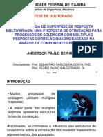 Metodologia de Superficie de Resposta Multivariada - Uma Proposta de Otimizacao