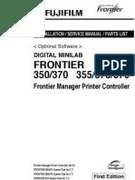 Fuji FRONTIER 350 370 SERVICE MANUAL