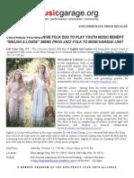 Press Release Inglish & Louise