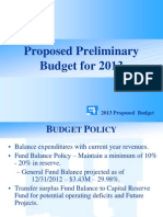 Montgomery Twp 2013 Budget Presentation
