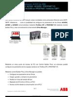 Infoplc Net Guia Tecnica n 6 Como Configurar Un ACS355 en PROFINET Mediante Control Builder Plus