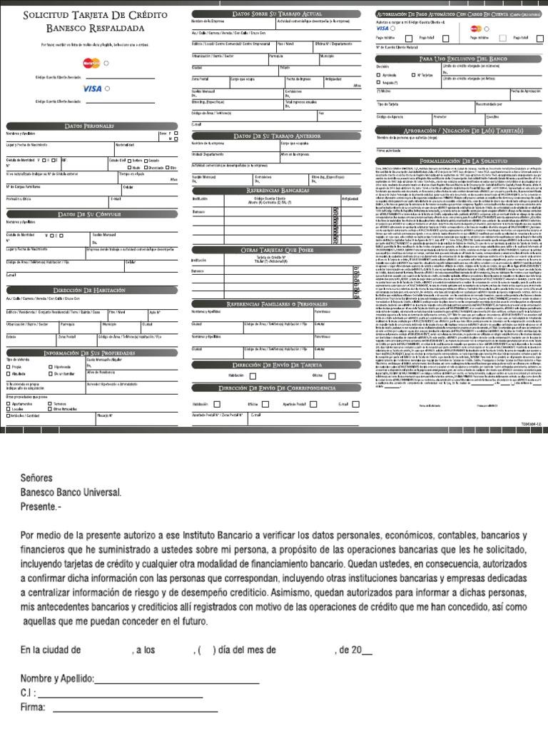 Prestamos microempresas medellin blog for Banco de venezuela solicitud de chequera