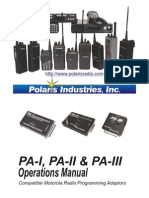 PolarisUSA Radio Manual 2004