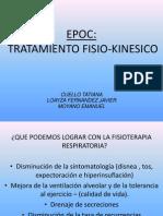 tratamiento fisiokinesico epoc