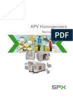 APV SPX Homogenizer General Brochure