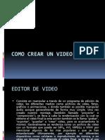 Como Crear Un Video